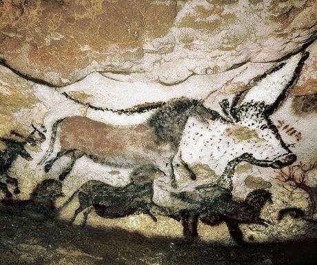 Höhle, Lehm, Stein und dasGeistige